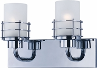 Maxim 2132FTPC Tier Polished Chrome 2-Light Bathroom Lighting