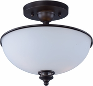 Maxim 21583SWOI Novus Oil Rubbed Bronze Ceiling Light Fixture
