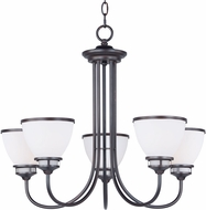 Maxim 21585SWOI Novus Oil Rubbed Bronze Hanging Chandelier