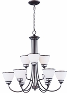 Maxim 21587SWOI Novus Oil Rubbed Bronze Chandelier Lighting