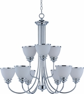 Maxim 21587SWPC Novus Polished Chrome Lighting Chandelier