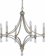 Maxim 21685CLSG Regal Silver Gold Chandelier Lamp