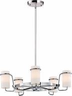 Maxim 22027SWPC Avant Contemporary Polished Chrome Xenon Mini Chandelier Lamp
