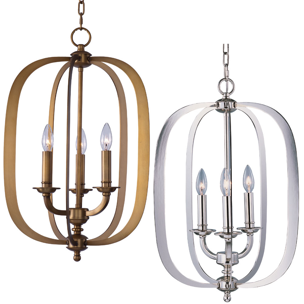 Tall Foyer Lighting : Maxim fairmont quot tall foyer light fixture max