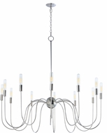 Maxim 22406PN Willsburg Modern Polished Nickel Chandelier Light