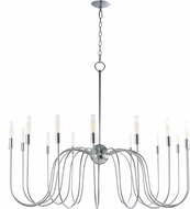 Maxim 22408PN Willsburg Contemporary Polished Nickel Chandelier Lighting