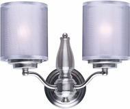 Maxim 24559SSSN Lucid Satin Nickel Wall Lamp