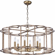 Maxim 24735BZF Helix Modern Bronze Fusion Chandelier Lighting