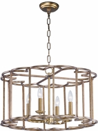 Maxim 24736BZF Helix Contemporary Bronze Fusion Lighting Chandelier