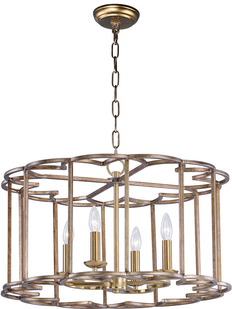 Maxim 24736BZF Helix Contemporary Bronze Fusion Lighting Chandelier. Loading zoom  sc 1 st  Affordable L&s & Maxim 24736BZF Helix Contemporary Bronze Fusion Lighting ... azcodes.com