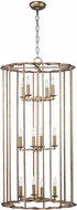 Maxim 24738BZF Helix Contemporary Bronze Fusion Foyer Lighting Fixture