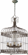 Maxim 26005ATR Gisele Traditional Antique Terra Entryway Light Fixture