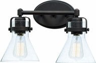 Maxim 26112CDOI Seafarer Modern Oil Rubbed Bronze 2-Light Bathroom Sconce Lighting