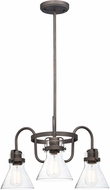 Maxim 26116CDOI Seafarer Modern Oil Rubbed Bronze Mini Ceiling Chandelier