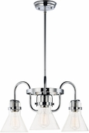 Maxim 26116CDPC-BUI Seafarer Contemporary Polished Chrome Mini Chandelier Lighting