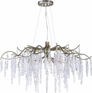 Maxim 26284ICSG Willow Modern Silver Gold Xenon Lighting Chandelier