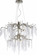 Maxim 26288ICSG Willow Modern Silver Gold Xenon Chandelier Light