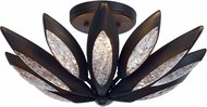 Maxim 26312ICBRB Lotus Modern Burnished Bronze Xenon Ceiling Light