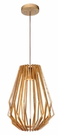 Maxim 27524UD Saki Asian Uddo Finish 17  Wide LED Foyer Pendant Lighting