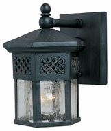 Maxim 30122CDCF Scottsdale Mediterranean Country Forge 6  Wide Exterior Lighting Wall Sconce