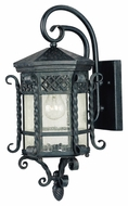 Maxim 30123CDCF Scottsdale Mediterranean Country Forge 21  Tall Outdoor Wall Lighting Sconce