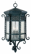 Maxim 30129CDCF Scottsdale Mediterranean Country Forge 12.5  Wide Exterior Hanging Light