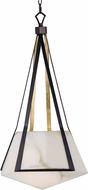 Maxim 30144BZGTGLD Boulder Contemporary Bronze Gilt and Gold LED Hanging Light Fixture