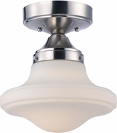 Maxim 30240SWSN New School Contemporary Satin Nickel LED Ceiling Lighting Fixture