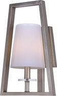 Maxim 30251WTPD Swing Modern Platinum Dusk Wall Sconce Lighting