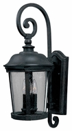 Maxim 3025CDBZ Dover DC Traditional Bronze 12  Wide Exterior Lighting Wall Sconce