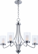 Maxim 30265CLFTSN Mod Contemporary Satin Nickel LED Chandelier Light