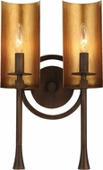Maxim 30292CHBGLD Candella Modern Chestnut Bronze / Gold 2-Light Bathroom Light