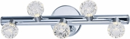 Maxim 3035BCPNSN Bejewel Polished Nickel / Satin Nickel LED 19  Bath Lighting Fixture