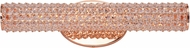 Maxim 32502BCRG Meteor Rose Gold LED 20  Bathroom Light