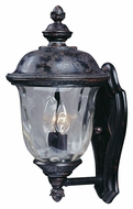 Maxim 3422WGOB Carriage House DC Traditional Oriental Bronze 16  Tall Outdoor Wall Sconce Light