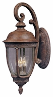 Maxim 3466CDSE Knob Hill DC Traditional Sienna 13  Wide Exterior Lamp Sconce