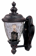 Maxim 3495WGOB Carriage House DC Traditional Oriental Bronze 12.5  Tall Outdoor Wall Sconce Lighting