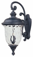 Maxim 3498WGOB Carriage House DC Traditional Oriental Bronze 14  Wide Exterior Wall Lighting Sconce