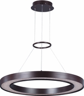 Maxim 35047CRYBZ Splendor Bronze LED 32  Pendant Lighting Fixture