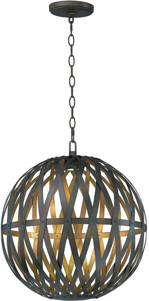 Maxim 35054bzgtgld weave contemporary bronze gilt and gold led ceiling light pendant loading zoom