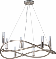 Maxim 38497CLGS Entwine Golden Silver Xenon Lighting Chandelier