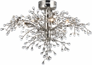 Maxim 38502CLPN Cluster Modern Polished Nickel LED Ceiling Lighting Fixture