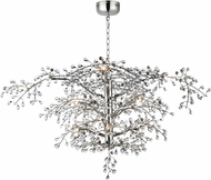 Maxim 38506CLPN Cluster Modern Polished Nickel LED Chandelier Light