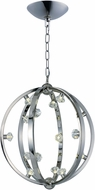 Maxim 39104BCPN Equinox Polished Nickel LED 25  Pendant Hanging Light