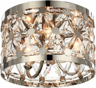 Maxim 39500BCPN Cassiopeia Polished Nickel Ceiling Light Fixture