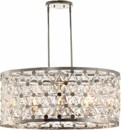 Maxim 39507BCPN Cassiopeia Polished Nickel Kitchen Island Lighting