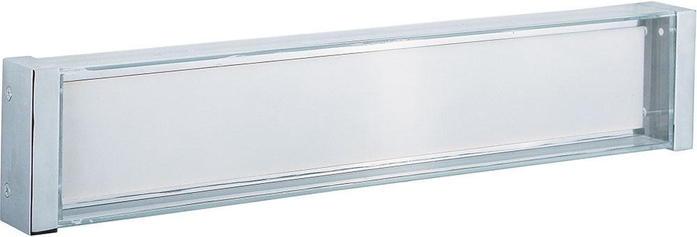 Maxim 39632CLPC Vista Modern Polished Chrome LED 26u0026nbsp; Vanity Light  Fixture. Loading Zoom
