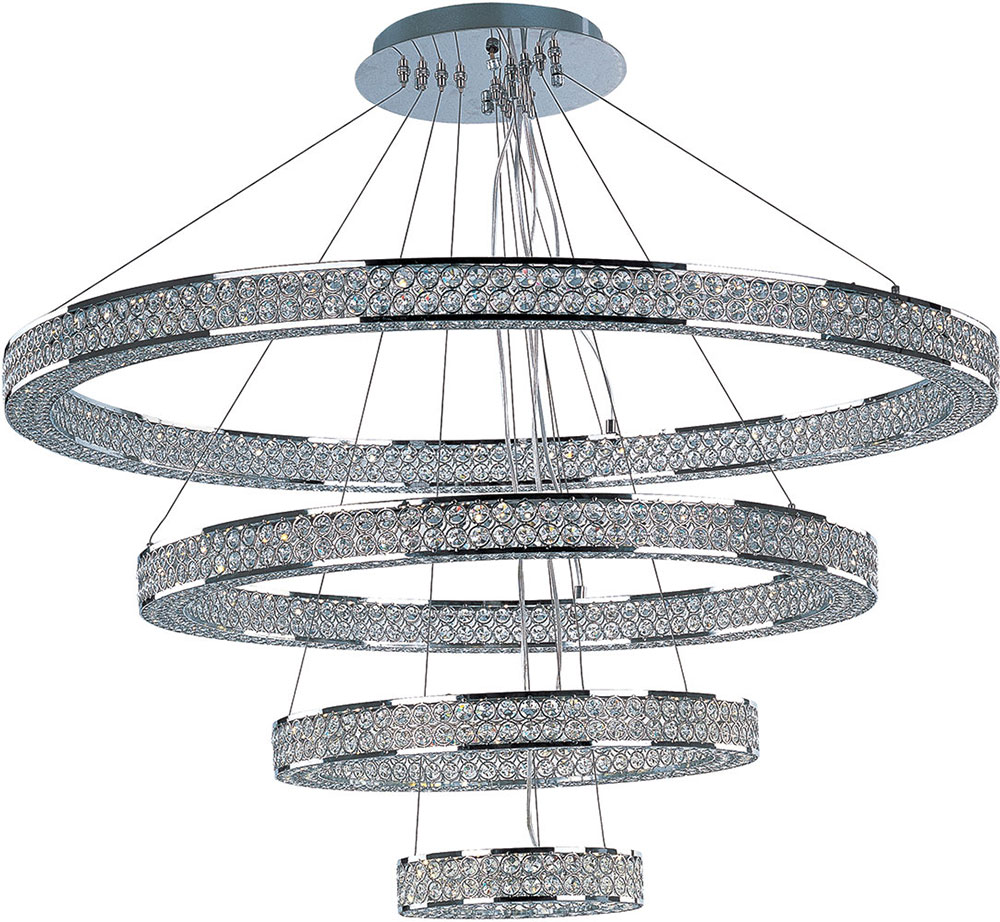 Maxim 39778bcpc eternity polished chrome led multi hanging pendant maxim 39778bcpc eternity polished chrome led multi hanging pendant light loading zoom mozeypictures