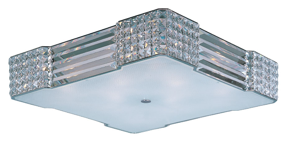 Xenon Ceiling Lights : Maxim bcpc manhattan polished chrome finish