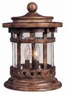 Maxim 40032CDSE Santa Barbara VX Traditional Sienna 15  Tall Outdoor Deck Light